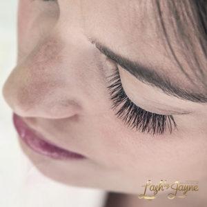 Eyelash extensions glamour